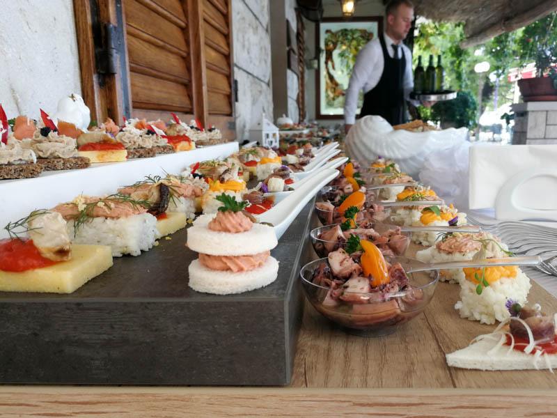 Restaurant Kamena Tučepi catering